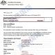 恭喜刘女士澳大利亚访问签证成功下签