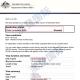 恭喜蔡女士澳大利亚访问签证成功下签